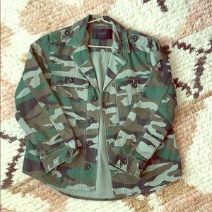 J Crew Camo jacket